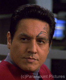 Chakotay, as portrayed by Robert Beltran