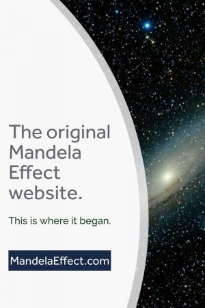 The original Mandela Effect website.