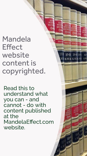 Copyright law and content at the Mandela Effect website